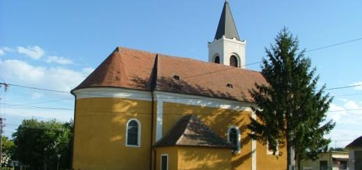 Vámosszabadi Mindenszentek templom
