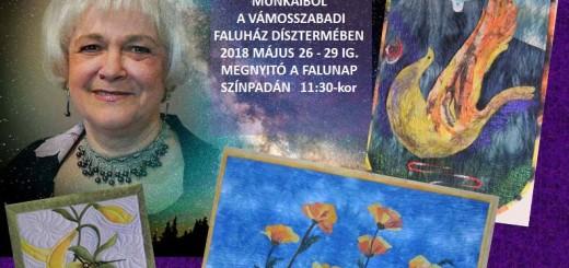 Németh Gizella folt hátán folt kiállítás plakátja