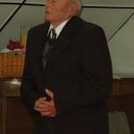 Alasztics Antal Óbcsey: Szeressétek  az öregeket című verset szavalta