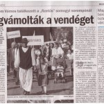 Somogyi Hírlap cikke