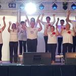 Senior tánccsoport a Halfesztiválon