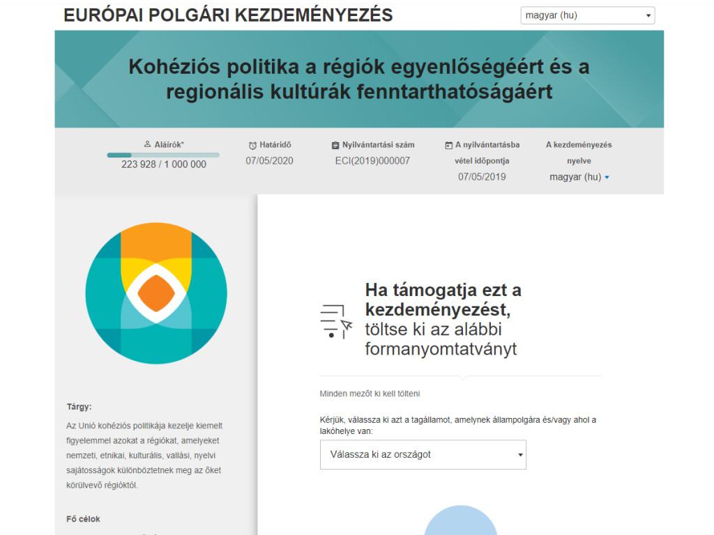 FB-post-EuropaiPolgariKezdemenyezes