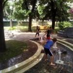 vizes játszótéren Erzsébet