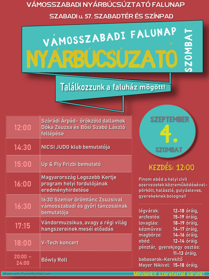 nyarzaro programplakát